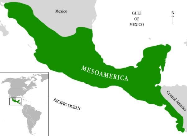 Quais são os horizontes culturais da Mesoamérica? 1