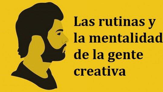 Rotinas e mentalidade de pessoas criativas 1