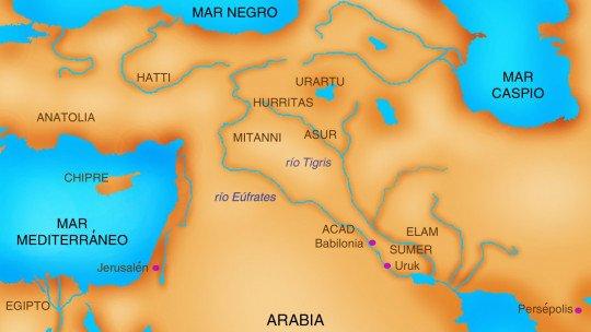 As culturas mais importantes da antiga Mesopotâmia 1