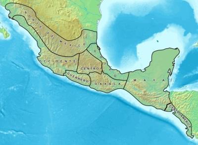 Mesoamérica: características, clima, economia, alívio 2