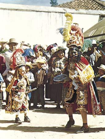 A dança 9 folclórica da Guatemala 3