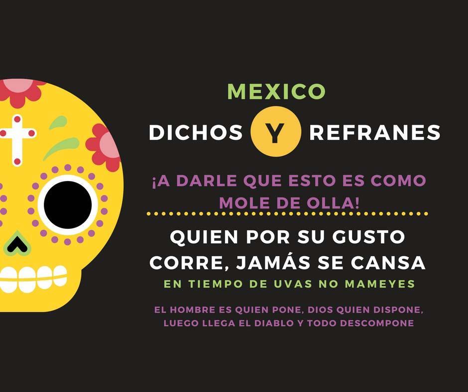 Os 200 ditados mexicanos mais populares 1