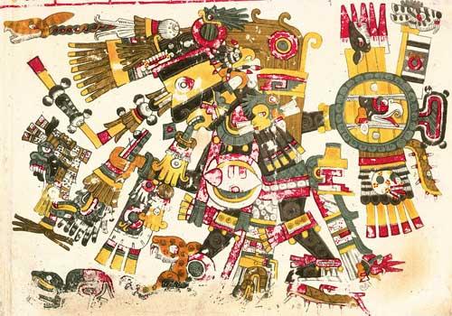 Os 77 deuses astecas mais importantes e seu significado