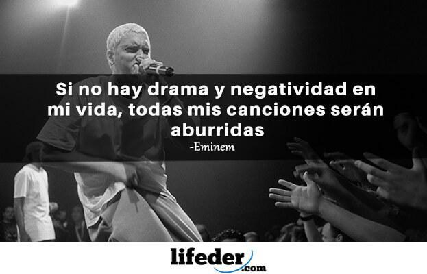 As 97 melhores frases de Eminem (em espanhol) 11