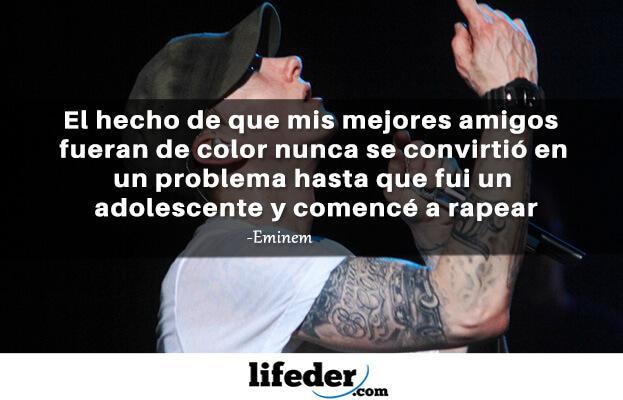 As 97 melhores frases de Eminem (em espanhol) 14