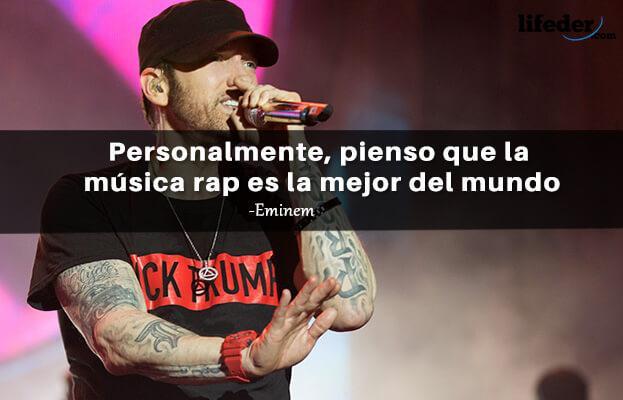 As 97 melhores frases de Eminem (em espanhol) 15