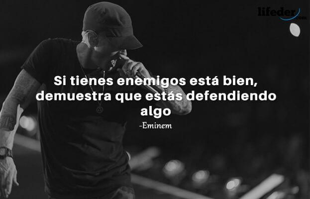 As 97 melhores frases de Eminem (em espanhol) 4