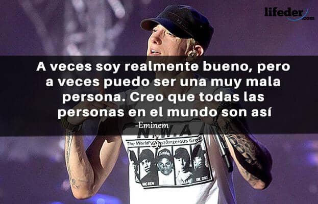 As 97 melhores frases de Eminem (em espanhol) 8