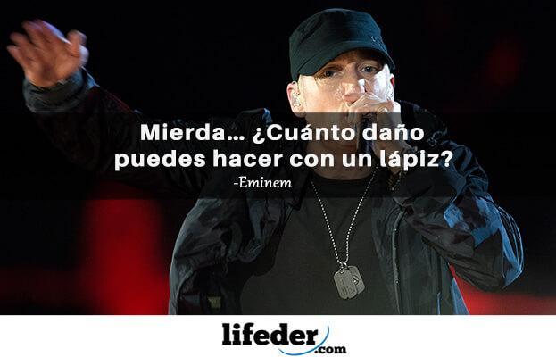 As 97 melhores frases de Eminem (em espanhol) 10