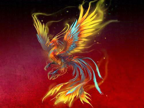 Fênix azul: significado e história na mitologia 1