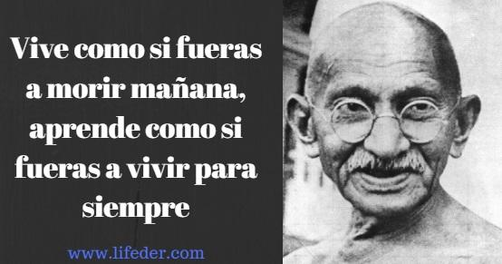 As 100 melhores frases de Mahatma Gandhi 1