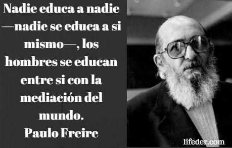 As 100 melhores frases de Paulo Freire 1