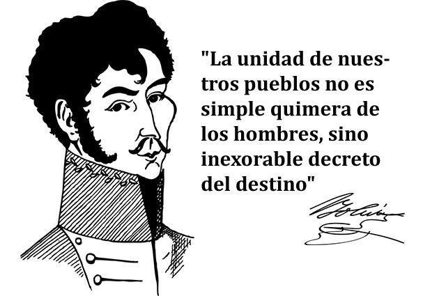 As 100 melhores frases de Simón Bolívar 1