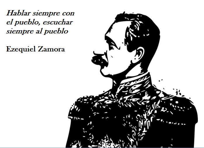 As 52 melhores frases de Ezequiel Zamora 99