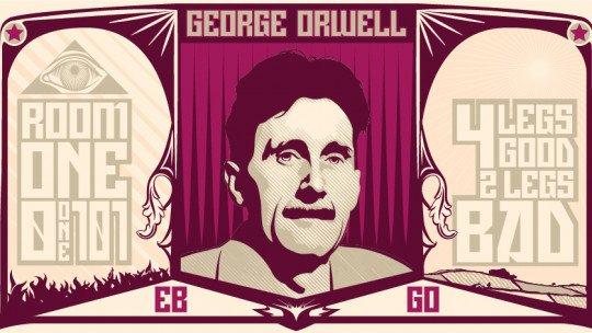 """As 34 melhores frases de George Orwell, autor de """"Rebelião Agrícola"""" 1"""