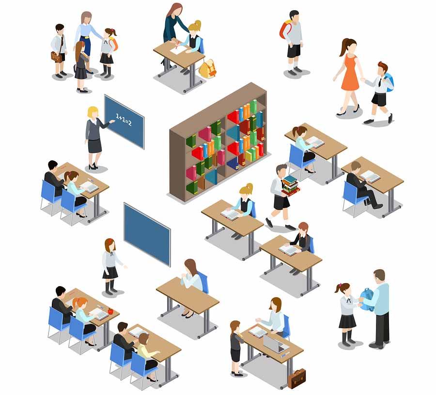 Como é formado o governo da escola? 2