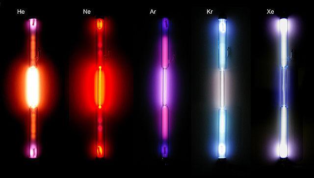 Gases inertes: características e exemplos 2