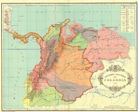 Causas da dissolução da Gran Colômbia 1