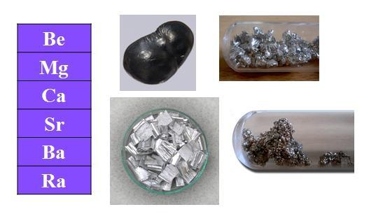 Metais alcalino-terrosos: propriedades, reações, aplicações 1