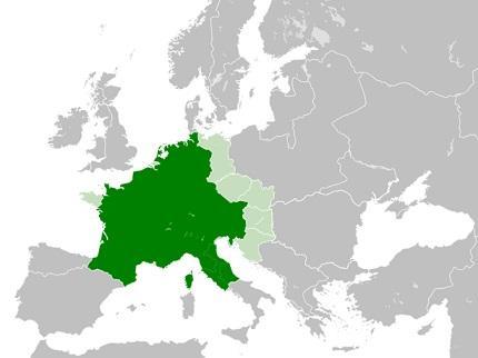 Carlos Magno: biografia, Império, batalhas, morte 2