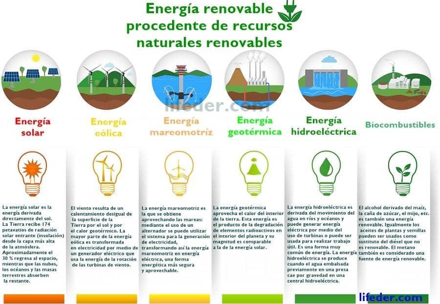 Recursos naturais renováveis (com 30 exemplos) 2