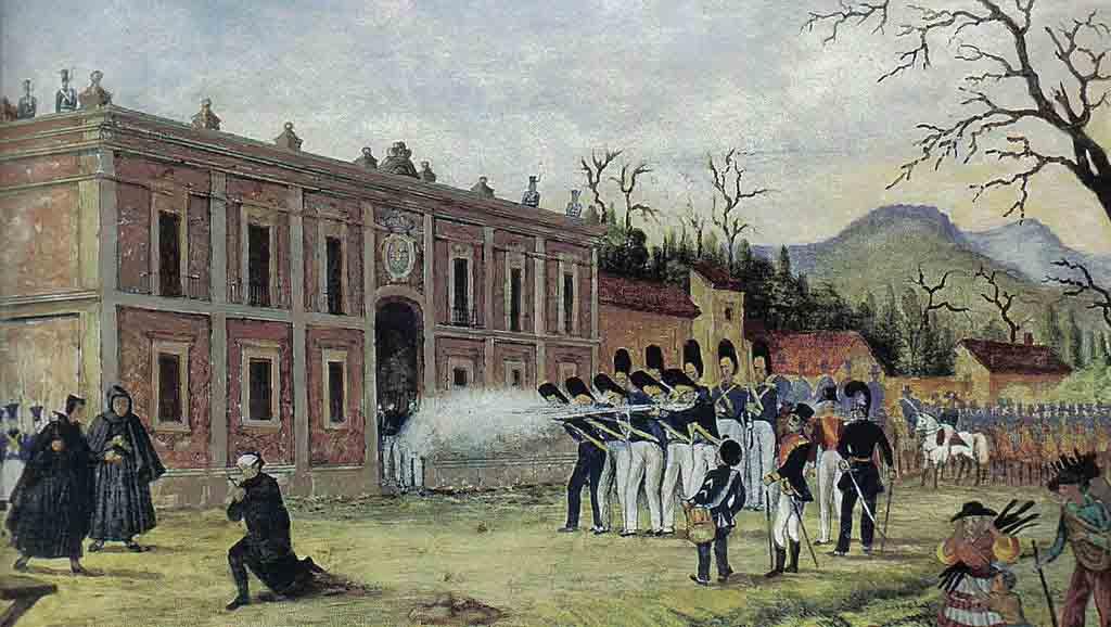 Quem eram os insurgentes e os realistas no México? 1