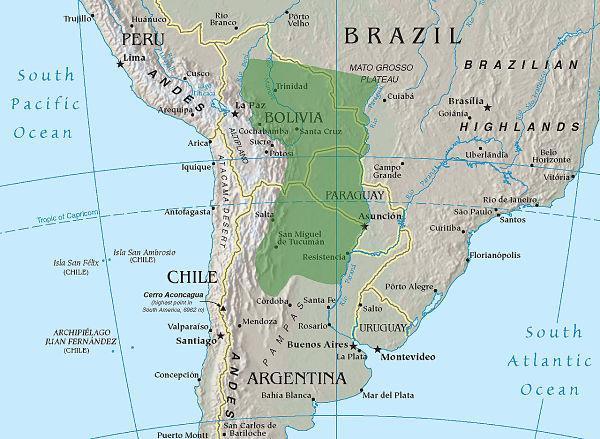 Planície do Chaco: rios, flora, fauna e sub-regiões 24