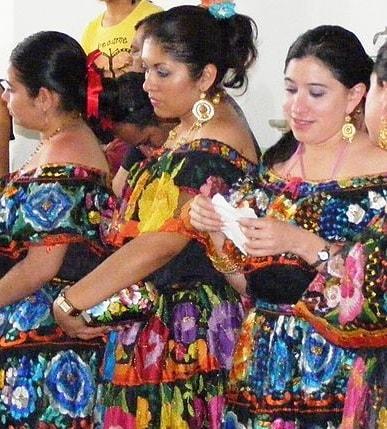 5 Trajes típicos de Chiapas e suas características 3