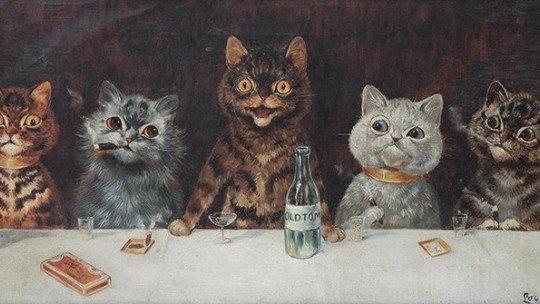 Louis Wain e gatos: arte vista através da esquizofrenia 1