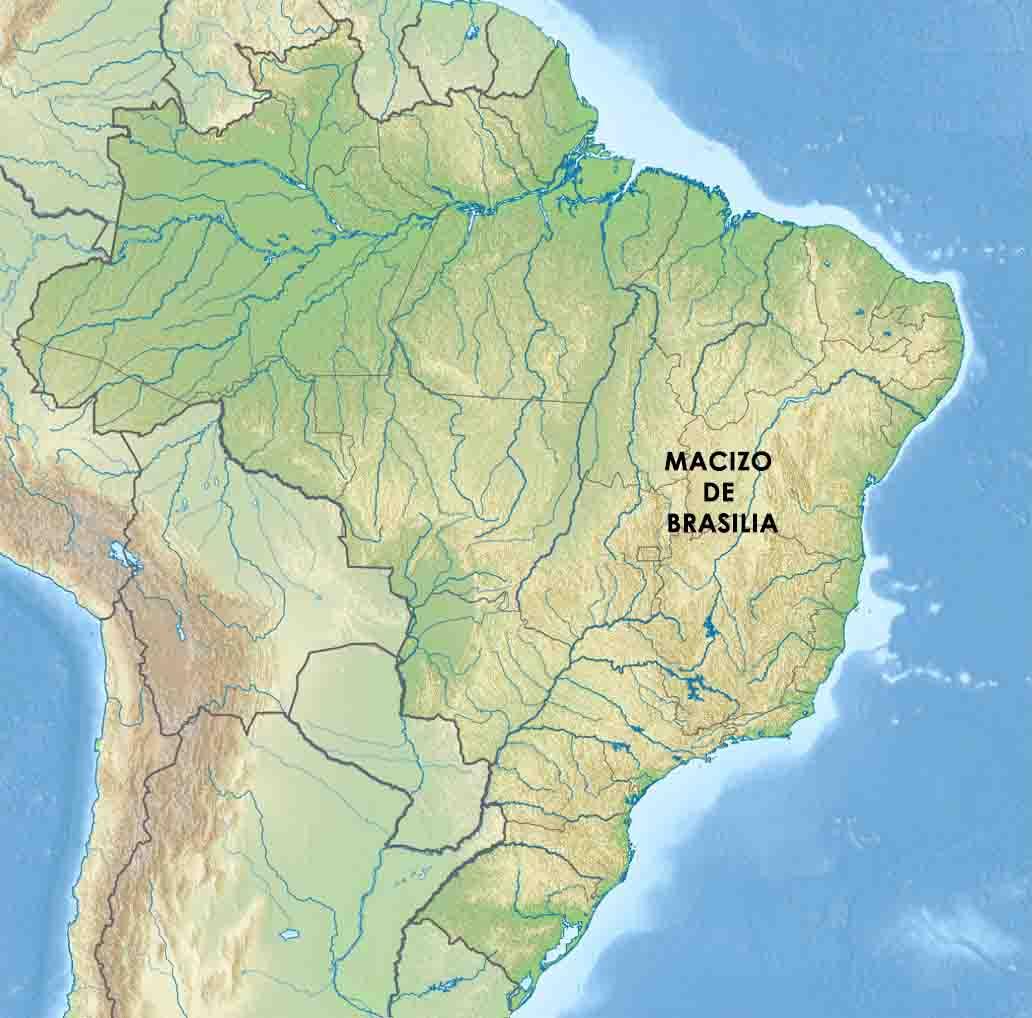 Maciço de Brasília: composição, topografia e relevo 2