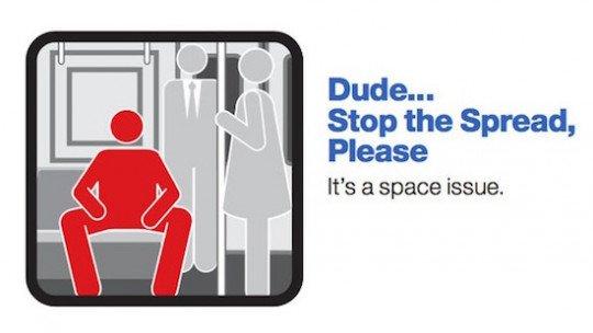 Manifestação: os homens precisam ocupar mais quando sentados? 1