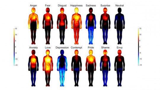 Descubra o mapa corporal das emoções 1