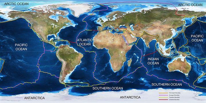 Por que e como as placas tectônicas se movem? 1