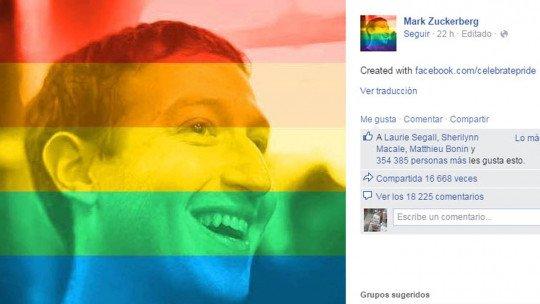 As fotos do arco-íris no Facebook são uma investigação social 1