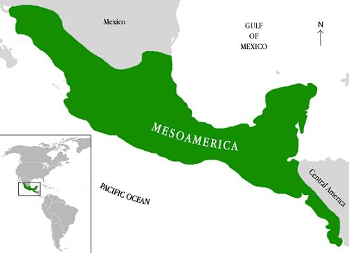 Mesoamérica: características, clima, economia, alívio 1