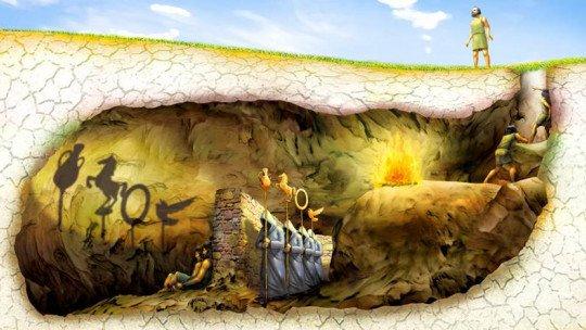 O mito da caverna de Platão (significado e história desta alegoria) 1