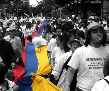 10 movimentos sociais na Colômbia 1