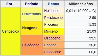 Neogênio: características, subdivisões, flora e fauna 4