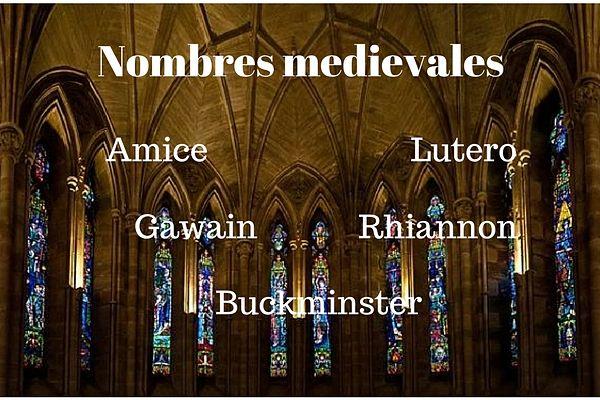 100 nomes medievais e seu significado 9