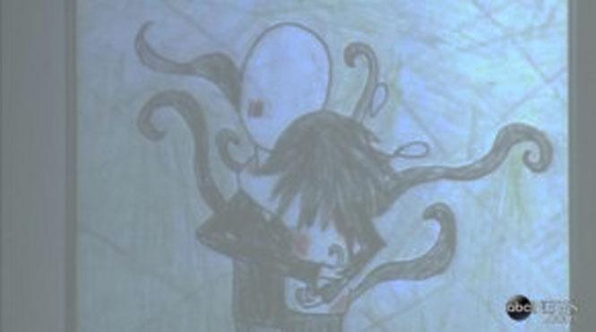 Os desenhos assustadores de uma garota assassina de 12 anos 5