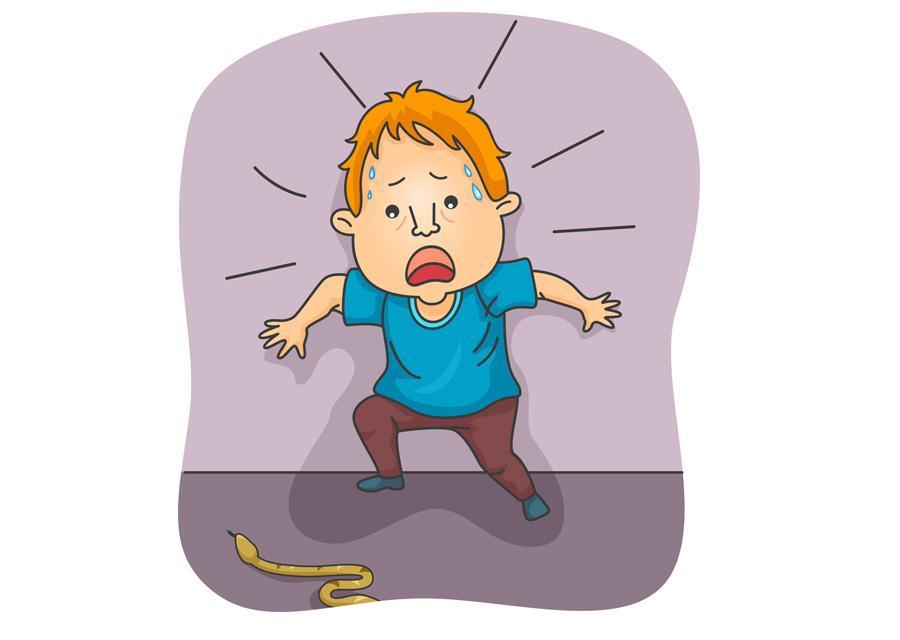 Fobia de cobra (oftalofobia): sintomas, causas 1