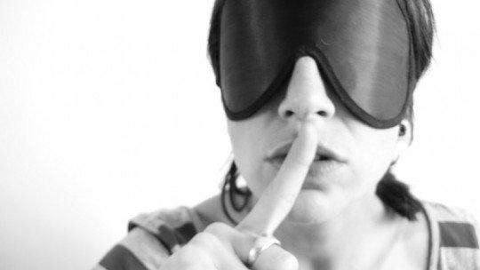 Alucinações ao usar olhos cobertos por várias horas 1