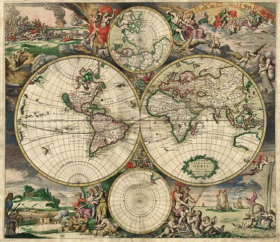 Os 11 tipos de mapas principais 1