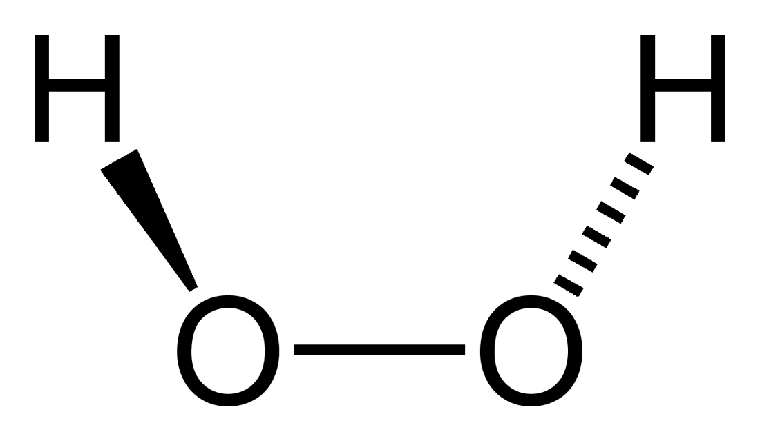 Peróxido de hidrogênio: propriedades, fórmula, estrutura e usos 51