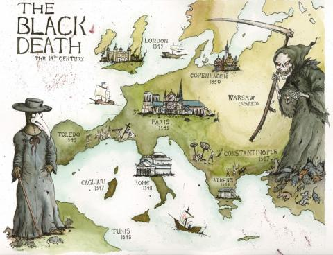 Peste Negra: história, causas, consequências e países afetados 2