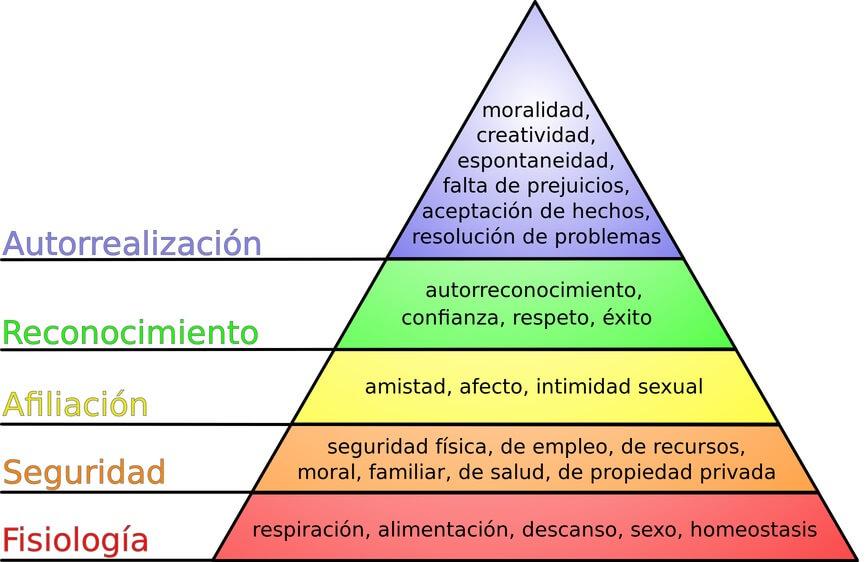 Necessidades primárias e secundárias: características e exemplos 2