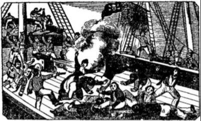Piratas e Corsários no Golfo do México 1