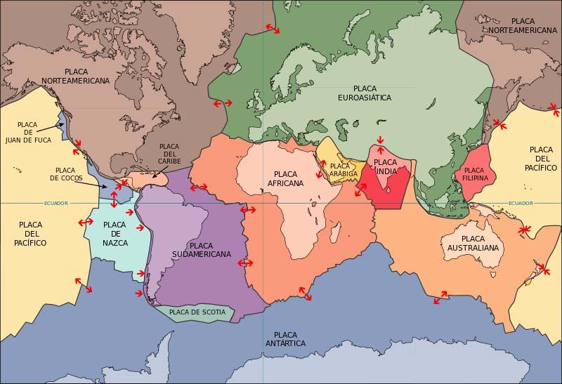 O Que Sao As Placas Tectonicas No Mexico Maestrovirtuale Com