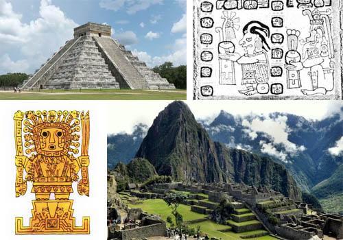 Por que as civilizações mesoamericana e andina são originais? 1