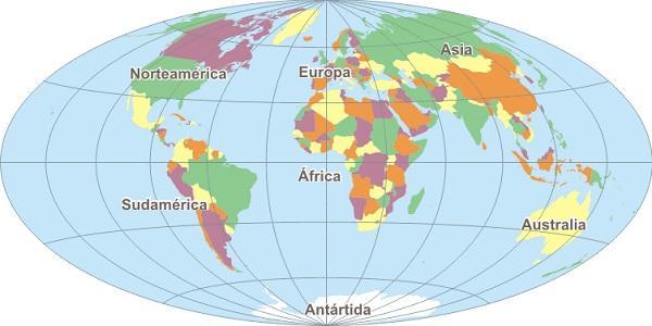 Divisão política: conceito e divisão do mundo 2